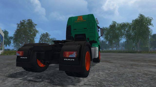 """Мод """"MAN TGS Aguas Tenias v 1.0"""" для Farming Simulator 2015"""