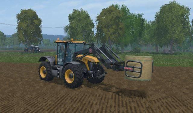 "Мод ""JCB Fastrac 4220 & 4190 v 2.0"" для Farming Simulator 2015"