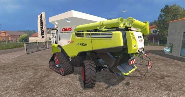 "Мод ""Claas Lexion 10X80 Australian Prototyp v 1.0"" для Farming Simulator 2015"