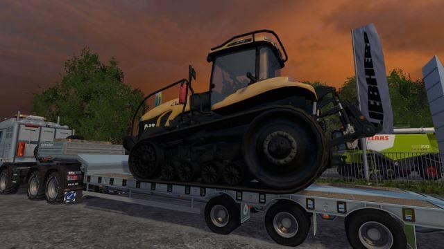"Мод ""Cat Challenger MT865B v 1.1 "" для Farming Simulator 2015"