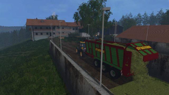 "Мод ""Strautmann Giga Trailer 4001 v 2.0"" для Farming Simulator 2015"