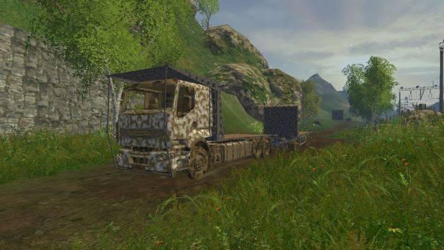 "Мод ""Renault Premium v 2.0"" для Farming Simulator 2015"