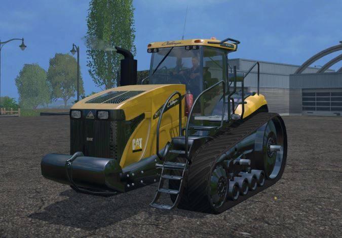"""Мод """"Cat Challenger MT875D"""" для Farming Simulator 2015"""