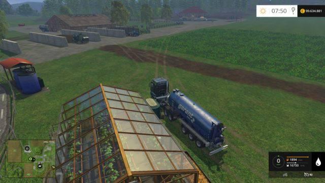"Мод ""Water Trailer XXL v 1.0"" для Farming Simulator 2015"