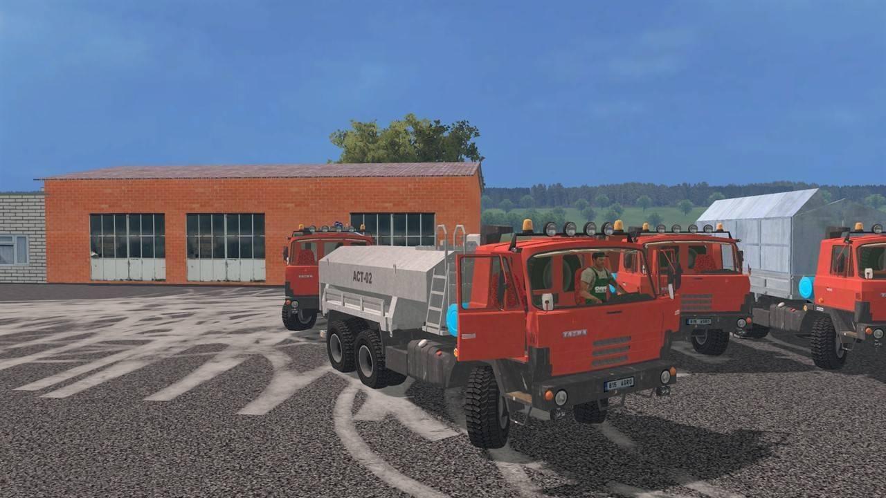 "Мод ""Tatra 815 Agro Pack"" для Farming Simulator 2015"