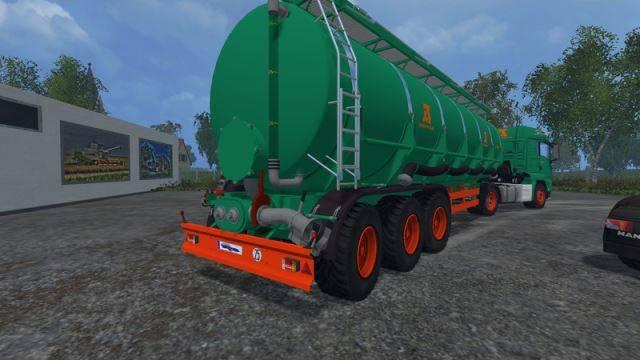 "Мод ""Aguas Tenias Tank Truck 45L v 1.0"" для Farming Simulator 2015"
