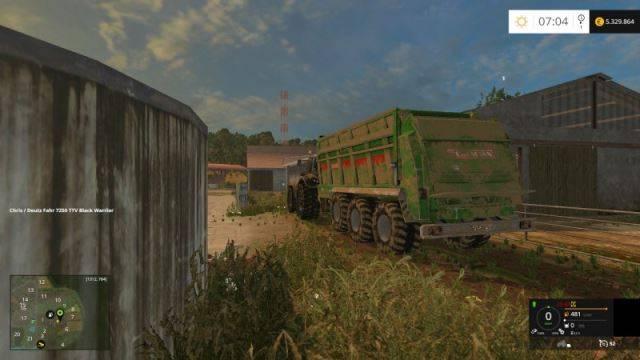 "Мод ""Bergmann TSW 7340SV v 1.5"" для Farming Simulator 2015"