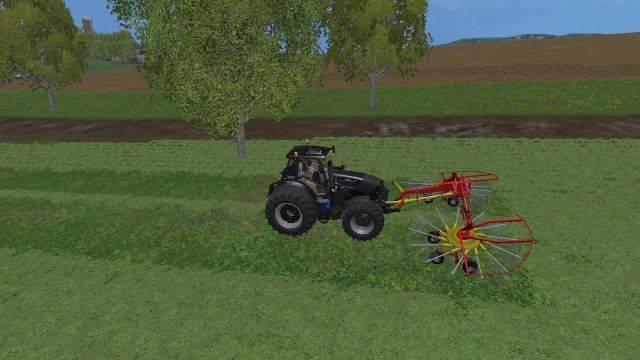 "Мод ""Poettinger Top 6 Front Windrower v 1.0"" для Farming Simulator 2015"