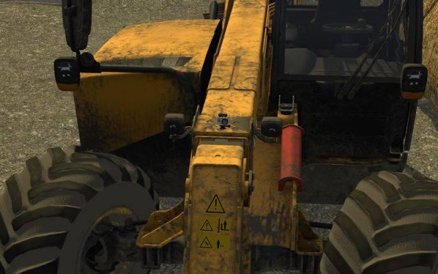 "Мод ""JCB 531-70 v 1.1"" для Farming Simulator 2015"