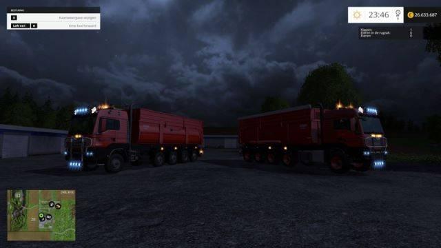 """Мод """"MAN TGS 10X8 KrampeBB900S v 1.3"""" для Farming Simulator 2015"""