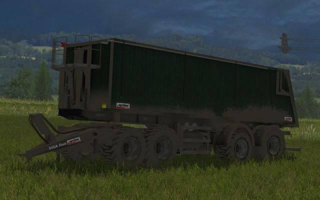"Мод ""Kroeger Agroliner SMK 34 v 1.4"" для Farming Simulator 2015"