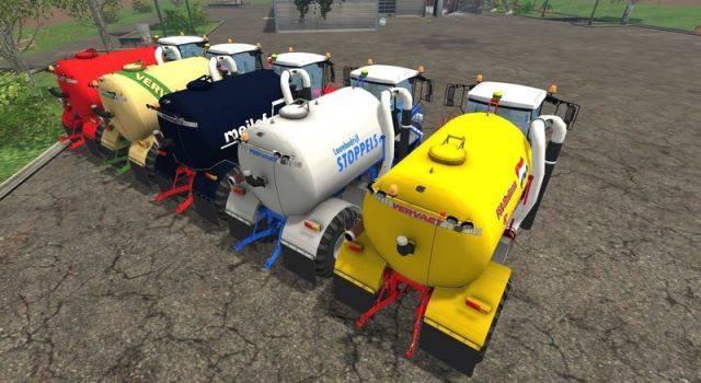 "Мод ""Vervaet Hydro Trike v 1.0"" для Farming Simulator 2015"