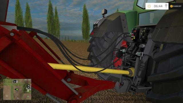 "Мод ""Lely Tigo XR100D v 3.0"" для Farming Simulator 2015"