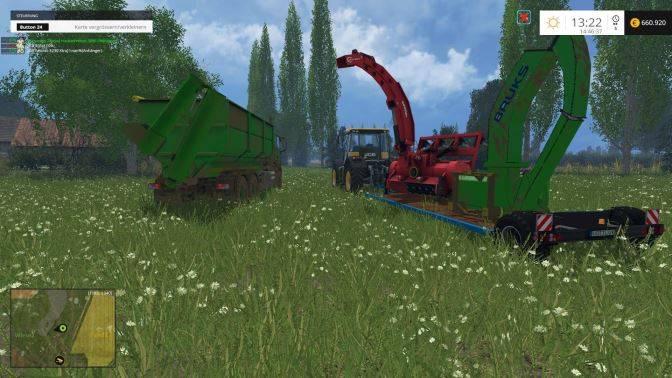 "Мод ""Man TGS 6X4 PACK v 1.0"" для Farming Simulator 2015"