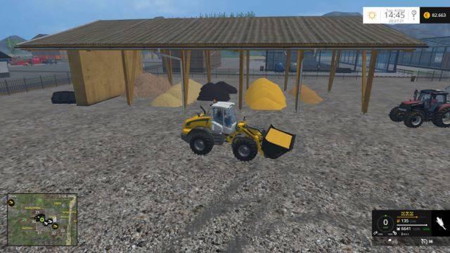 """Мод """"Скрипт HeapTipTrigger v 15.0.3"""" для Farming Simulator 2015"""