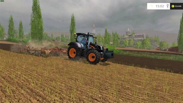 "Мод ""New Holland T6 GoEdition v 1.1"" для Farming Simulator 2015"