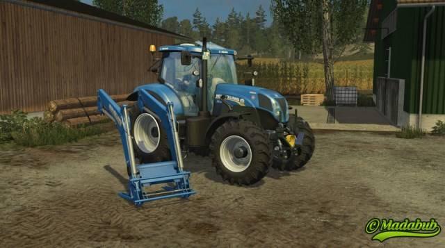 "Мод ""New Holland T7.170/185/200/210 v 1.0.2"" для Farming Simulator 2015"