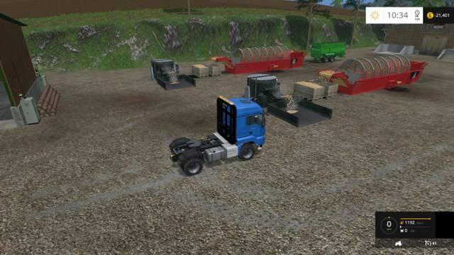 "Мод ""Ringwoods v 4.0"" для Farming Simulator 2015"
