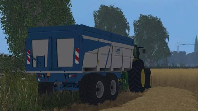 "Мод ""Brochard 18t v 1.0"" для Farming Simulator 2015"