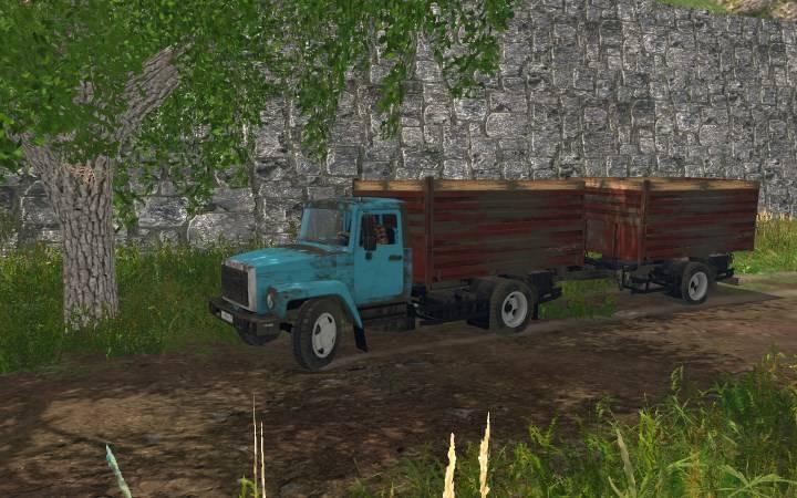 """Мод """"САЗ 35071 Turbo Diesel"""" для Farming Simulator 2015"""
