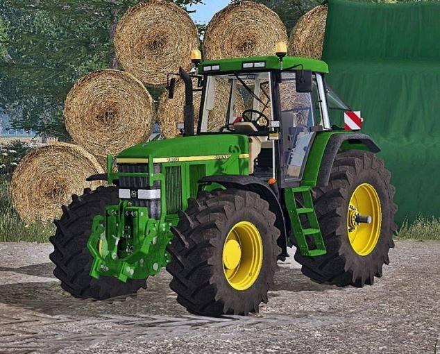 "Мод ""John Deere 7810 FH Washable v 2.0"" для Farming Simulator 2015"