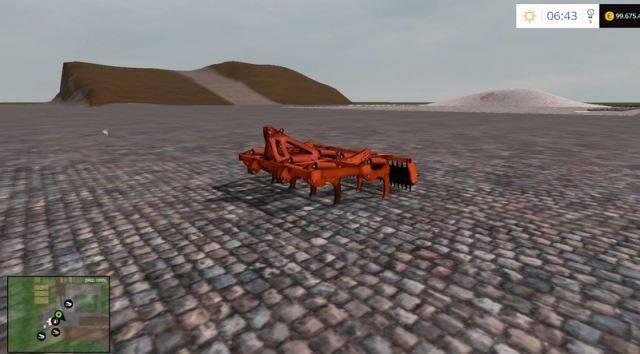 "Мод ""Chisel Subsolador Armazon Los antonios v 1.0"" для Farming Simulator 2015"