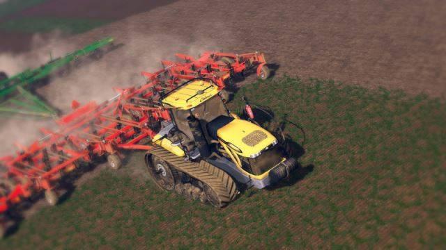"Мод ""Cat Challenger MT875E v 1.0"" для Farming Simulator 2015"