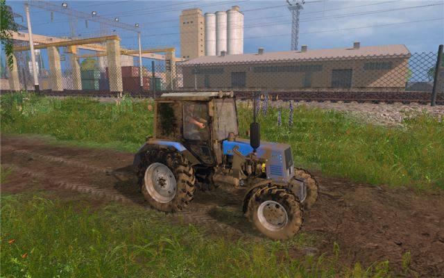 "Мод ""МТЗ-892 v 2.0"" для Farming Simulator 2015"