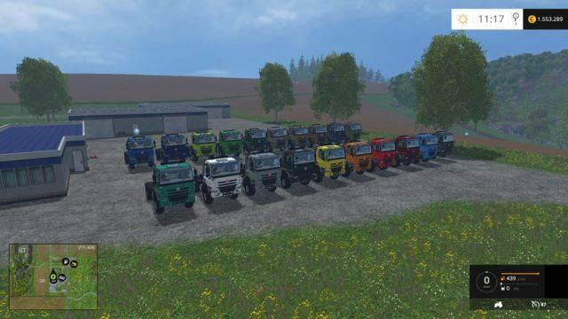 "Мод ""Tatra Phoenix 4×4 tractor Agra V Sattelzugmaschine"" для Farming Simulator 2015"