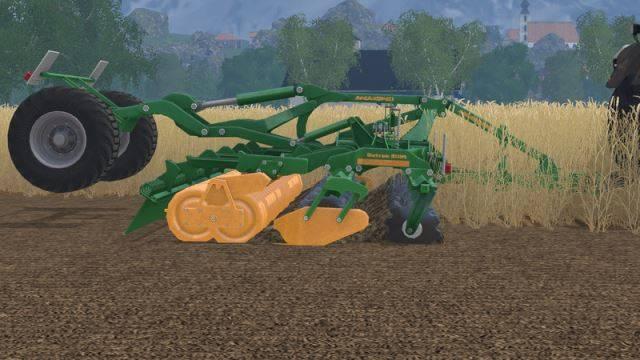 "Мод ""Amazone Catros 6001 mit Fahrgestell v 1.0"" для Farming Simulator 2015"