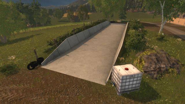 "Мод ""Traunsteiner silos v 1.0"" для Farming Simulator 2015"