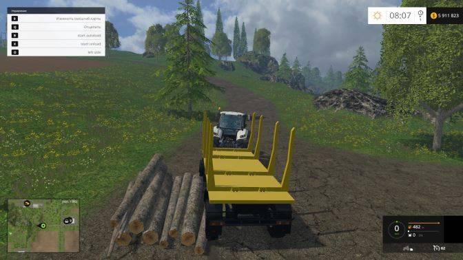 "Мод ""ПСВ-10-21 Forest v 1.0"" для Farming Simulator 2015"