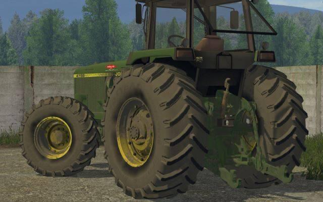 "Мод ""John Deere 4755 v 2.1"" для Farming Simulator 2015"