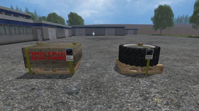 "Мод ""Steyr 8130A Turbo SK2 Electronic v 1.0 Twin tires & Snow chains"" для Farming Simulator 2015"