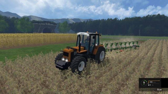 "Мод ""Renault 155.54 v 2.5"" для Farming Simulator 2015"