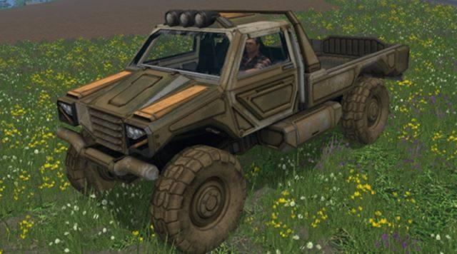 "Мод ""Gekko Utility Vehilcle v 1.0"" для Farming Simulator 2015"