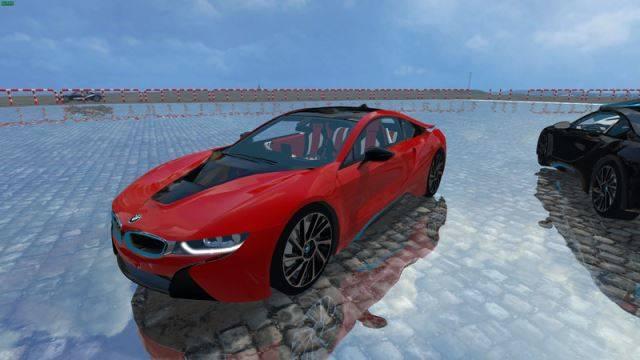 "Мод ""BMW i8 eDRIVE v 1.7"" для Farming Simulator 2015"