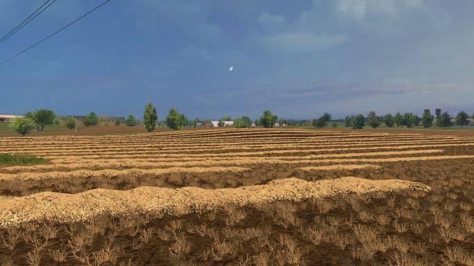 "Мод ""Карта Borki Agro v 1.2"" для Farming Simulator 2015"
