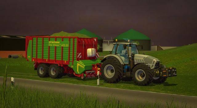 "Мод ""Lamborghini R6 250 VRT v 1.0"" для Farming Simulator 2015"