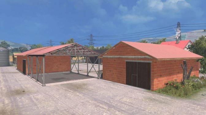 "Мод ""Карат Nowoczense Gospodarstwo v 1.1"" для Farming Simulator 2015"