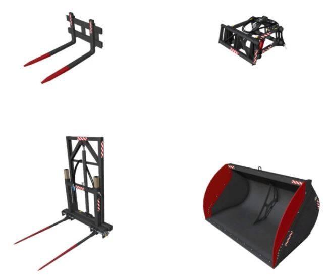 "Мод ""CSZ set Pack v 8.1"" для Farming Simulator 2015"
