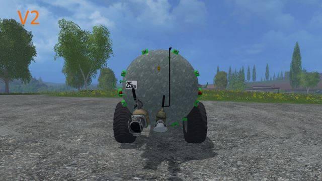 "Мод ""Bauer VB 50 Güllefass v 2.0"" для Farming Simulator 2015"