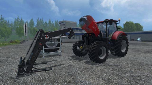 "Мод ""Case IH Puma 165 CVX FL Pack v 1.6.1"" для Farming Simulator 2015"