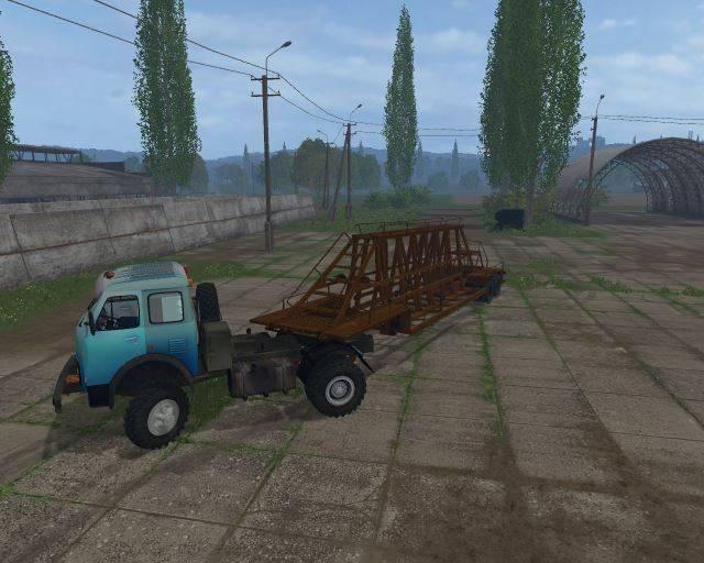 """Мод """"МАЗ-509 вездеходный v 1.0"""" для Farming Simulator 2015"""