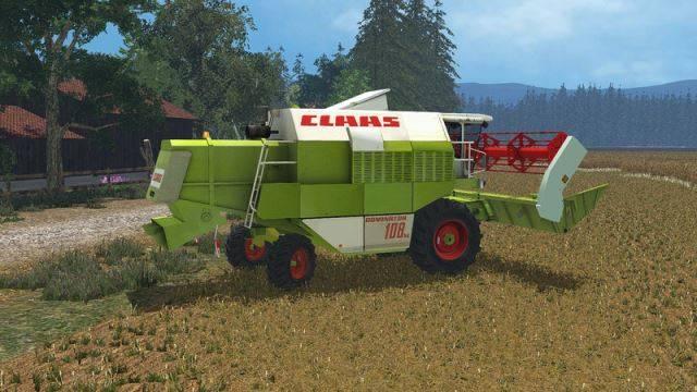 "Мод ""Claas Dominator 108SL v 1.0 Hotfix / non-Advanced"" для Farming Simulator 2015"