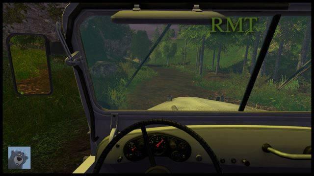 "Мод ""Газ 69 v 1.0"" для Farming Simulator 2015"
