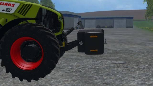 "Мод ""Burning-Gamers Gewicht v 1.0"" для Farming Simulator 2015"