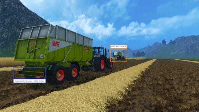 "Мод ""Driving Light Extension v 1.1"" для Farming Simulator 2015"