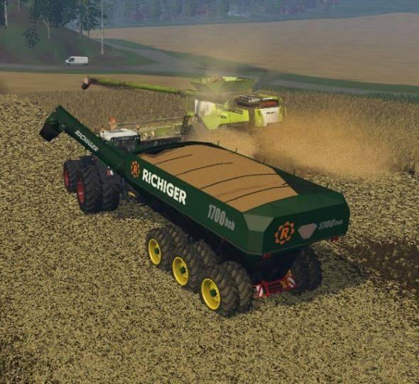 "Мод ""Richiger 1700 bsl Uberladewagen v 1.0"" для Farming Simulator 2015"
