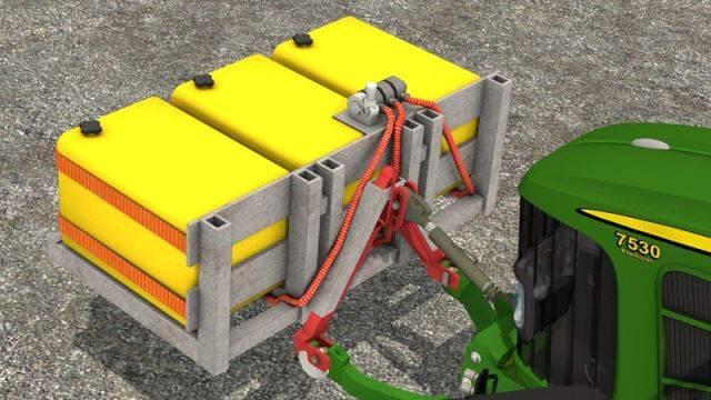 "Мод ""Liquid Fertilizer Tanks v 1.0"" для Farming Simulator 2015"